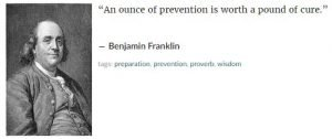 Benjamin Franklyn Quote